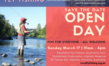 Women in Fly Fishing Open Day 17 March 2019