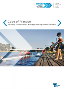Code of Practice for Boating Activity Events