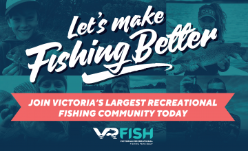 Join VRFish Victoria's recreational fishing peak body