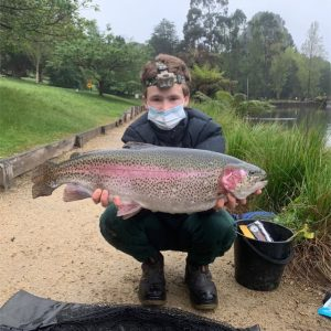 Stonker Trout Stocked Across Melbourne