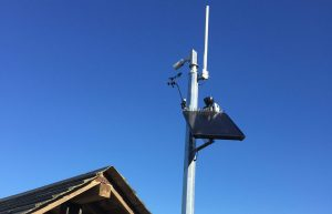New Beach Camera and Weather Reporting Station at Loch Sport Beach