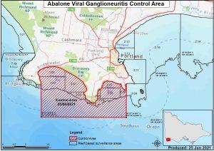 Abalone Disease Control Area Reduced